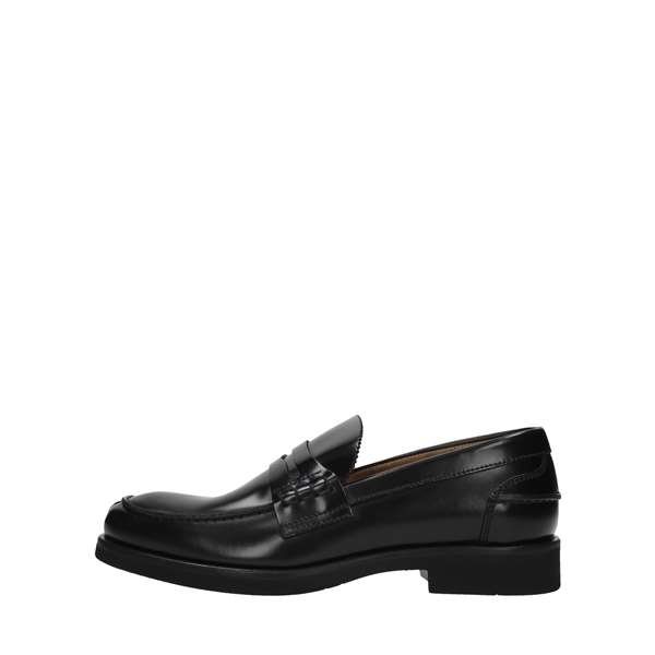 Rossi Shoes Man Moccasins And Slippers Black 5940