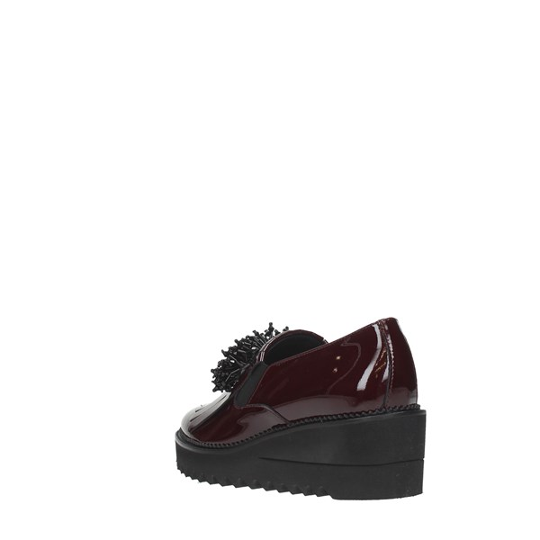 Luca Grossi Shoes Women Moccasins And Slippers Bordeaux E363M
