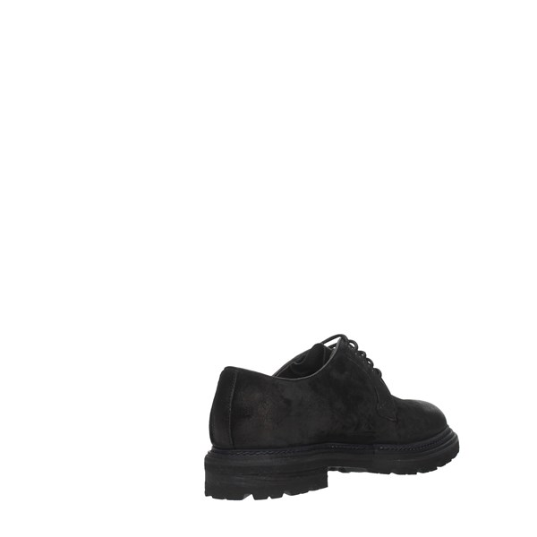 Brecos Shoes Man Laced Black 9239