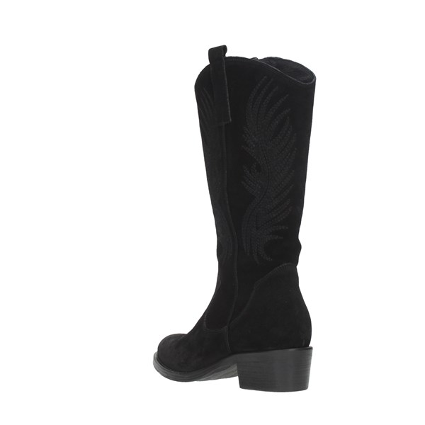 Keb Shoes Women Boots Black 508R
