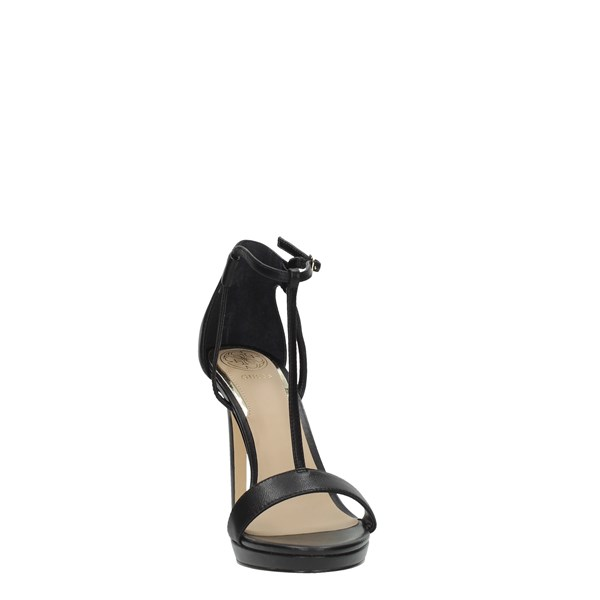 Guess Shoes Women Sandals Black FL6TEU