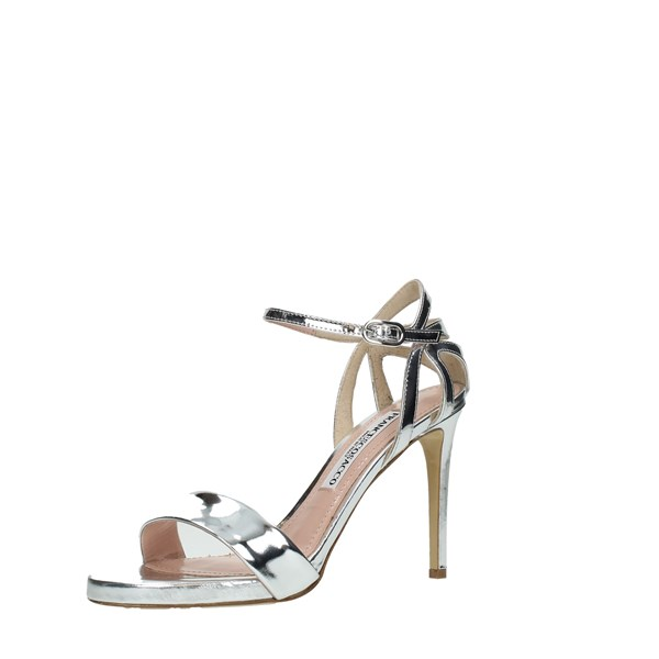 Francesco Sacco Shoes Women Sandals Silver 6121