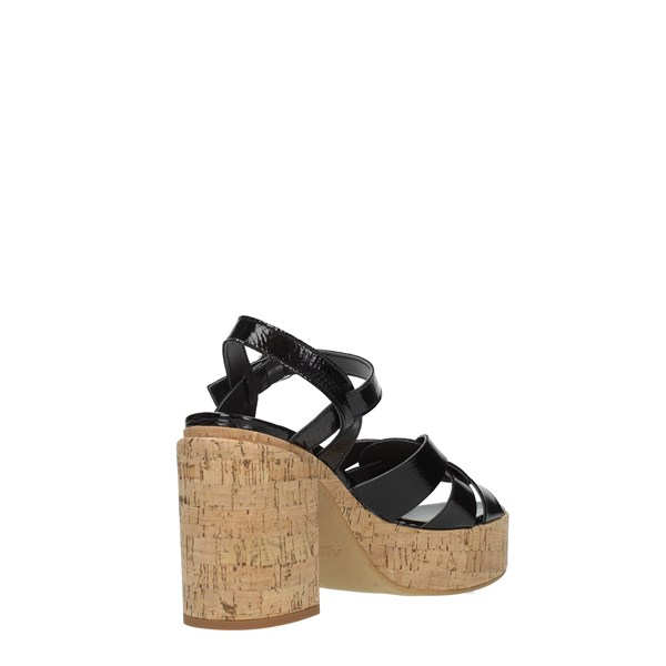 Jeannot Shoes Women Sandals Black 42082