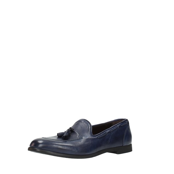 Jp David Shoes Man Moccasins And Slippers Blue 809