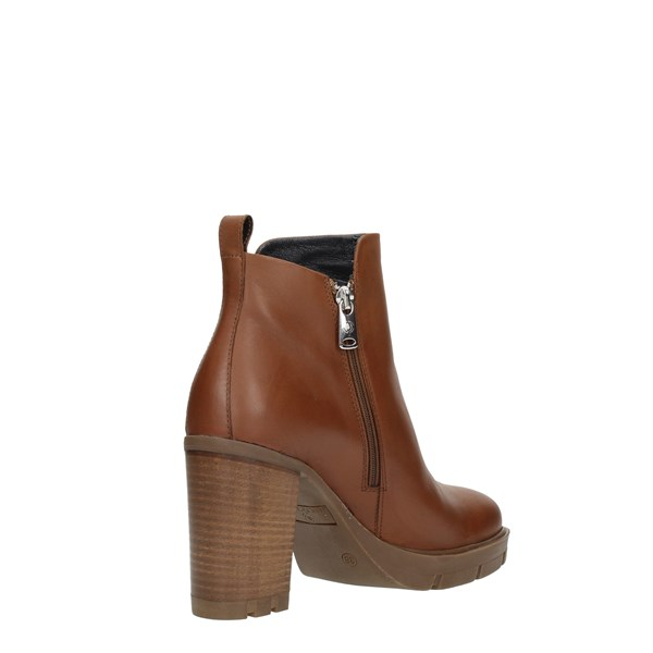 Janet Sport Shoes Women Booties Leather 46860