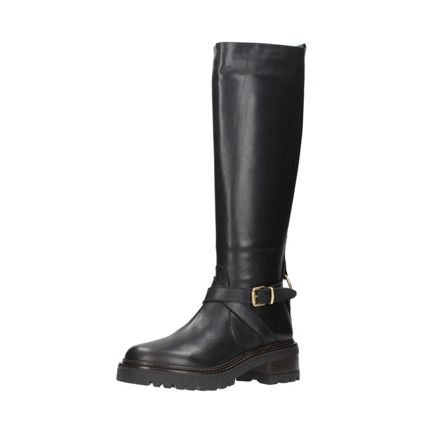 Bervicato Shoes Women Boots Black 4310