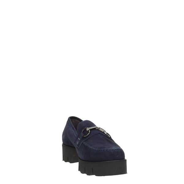 Luca Grossi Shoes Women Moccasins And Slippers Blue G358