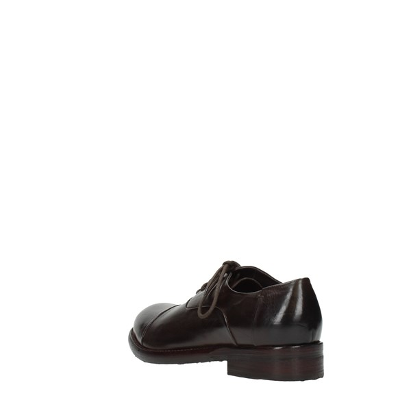 Jp David Shoes Man Laced Brown 36526/8