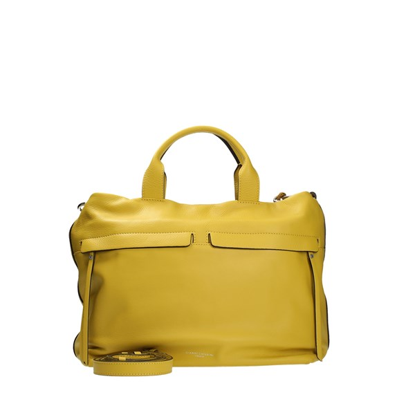 Gianni Chiarini Accessories Women Shoulder Bags Yellow BS7602/21PE STSR