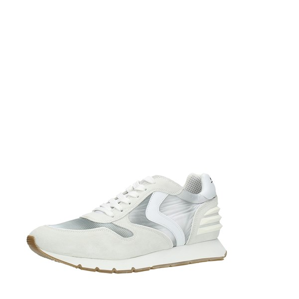 Voile Blanche Shoes Man Sneakers White LIAM POWER SUEDE PRI